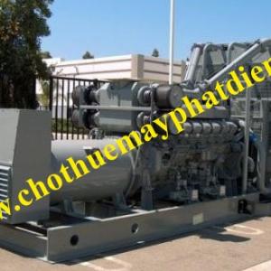 Cho thuê máy phát điện diesel
